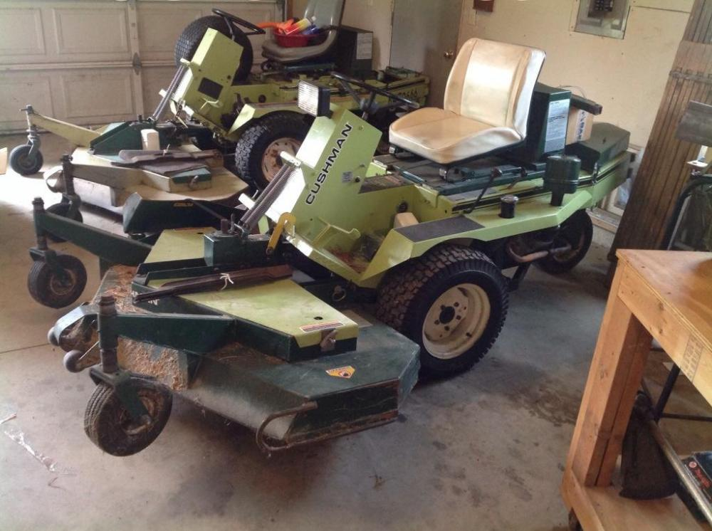 Cushman Front Line Power Unit with 72