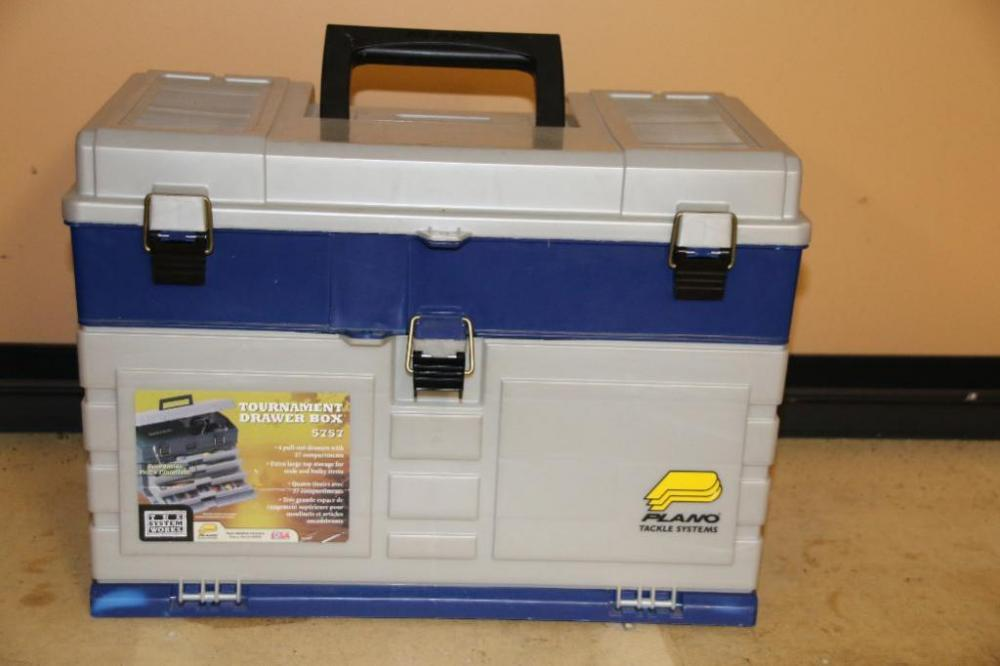 Plano tackle box Tournament drawer box # 5757  - Current