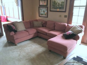 Clayton Marcus sectional Sofa