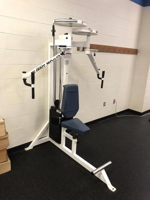 Body Master Pec/Rear Delt Machine - Current price: $325