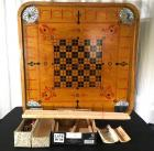 Vintage Carrom Gameboard w/ Revolving Stand