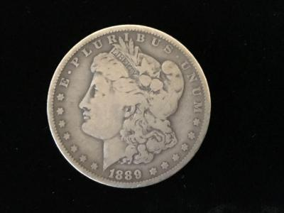 1889 U.S. Morgan Dollar