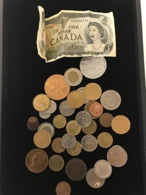 Lot of Foreign and Miscellaneous Coins