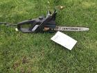 Craftsman Electric chainsaw With Tool and bar oil
